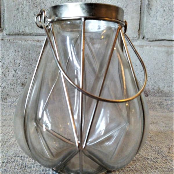 Fanal de vidrio